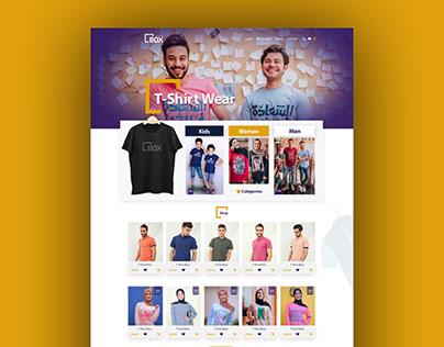 Box Stores Online Shop - Website Design & Ui-Ux
