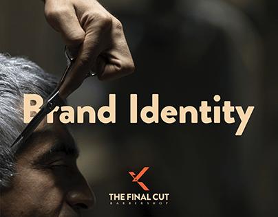 The Final Cut Barbershop Brand Identity