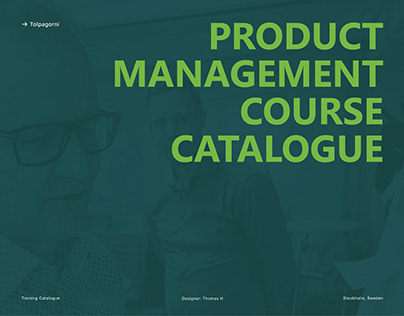 Tolpagorni Product Management Course Catalogue