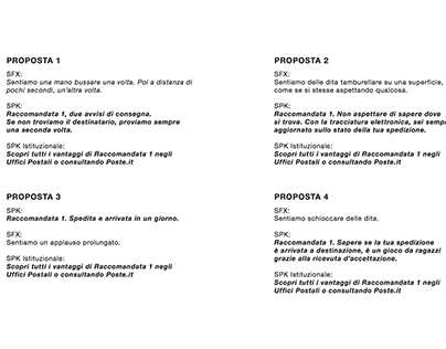 Radio Poste Italiane Raccomandata