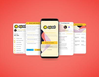 e4cash app redesign