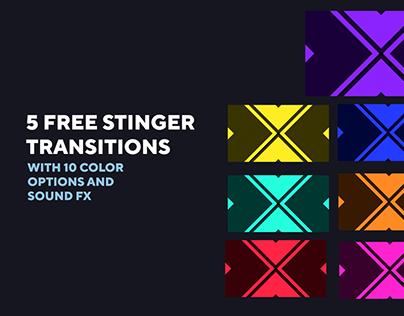 5 FREE Stream Stinger Transitions