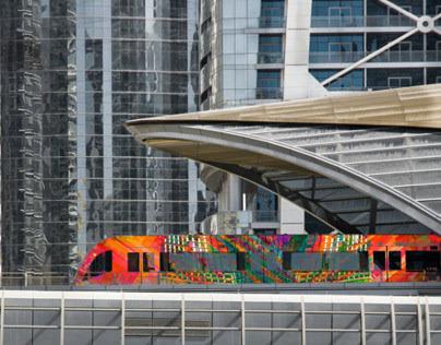 Dubai Metro Concept