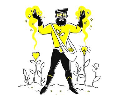 Amnesty International Superheroes