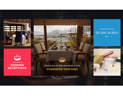 A Luxury Hotel Booking Website by Sunny Sum