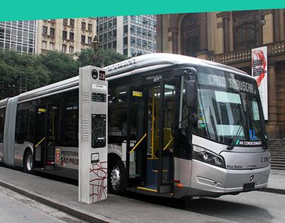LOGRA - Sinalização para o transporte público de SP