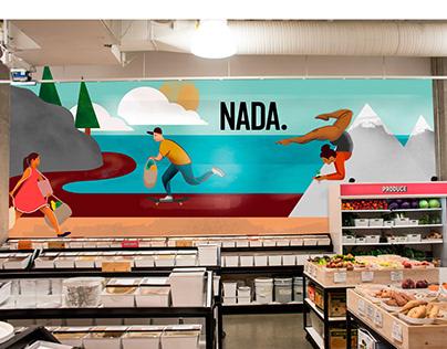 NADA Grocery Mural