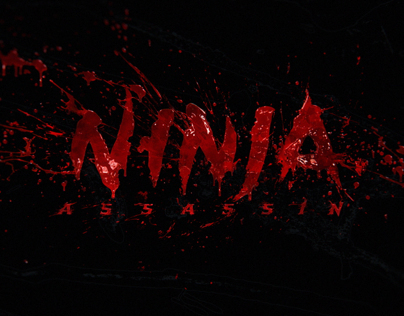 'Ninja Assassin' film title sequence