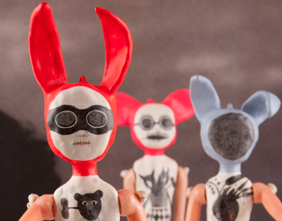 I'm a freak but I love you! / Assemblage art objects