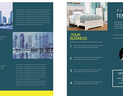 Trifold Brochure design.