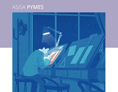 ASISA PYMES - Brochure illustrations