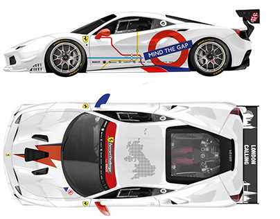 Uk Challenge Livery 2019 - Ferrari