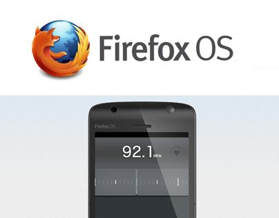 FireFox OS Radio PSD
