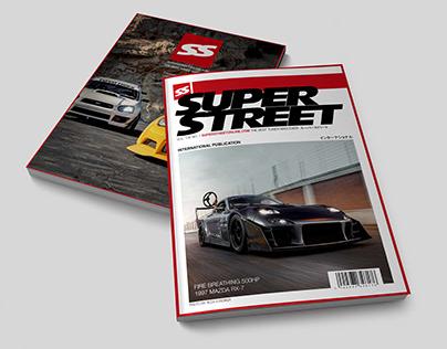 Super Street Mag Concept Spreads