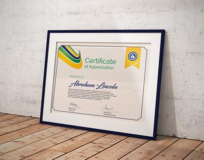 Multipurpose Certificate GD048