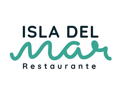 DISEÑO IDENTIDAD RESTAURANTE ISLA DEL MAR