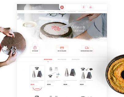 E-commerce Design - Rafisa Formas