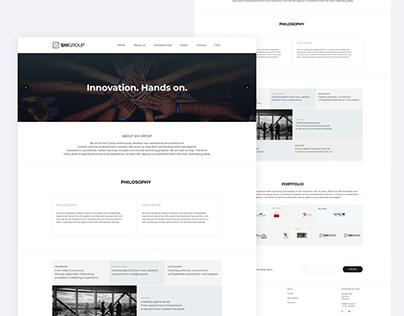SHI GROUP Landing Page