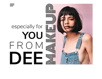Freelancer makeup artist Website