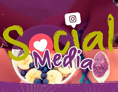 Social Media Açaí
