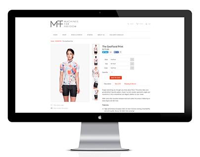 Women's Cycling Apparel Website