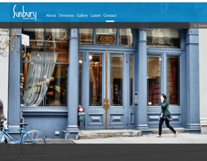 Sunbury Textile Mills | Website Redesign
