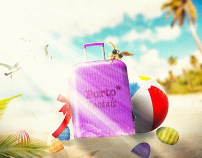 Porto Rentals Digital Easter Campaign