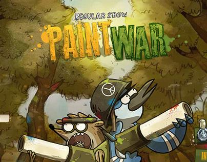 PAINTWAR. Cartoon Network - Regular Show