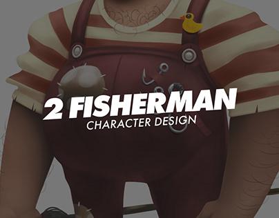 Character Design Fisherman (2017)