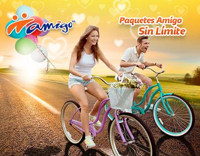 Telcel Paquetes Amigo Sin Límite / Facebook Canvas