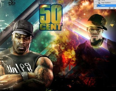 My Design For 50Cent ^_^