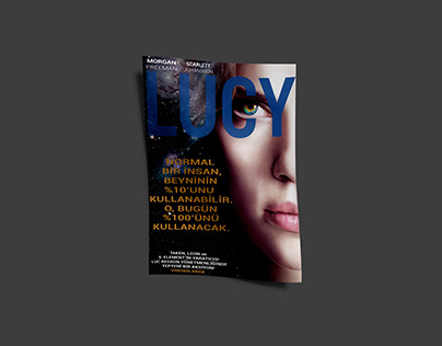 Lucy Movie Poster Design