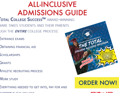 Total College Success Print Advertisment