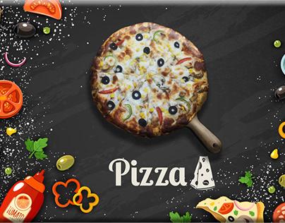 Pizza fast food tample