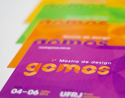 gomos - 1ª Mostra acadêmica unificada de design gráfico