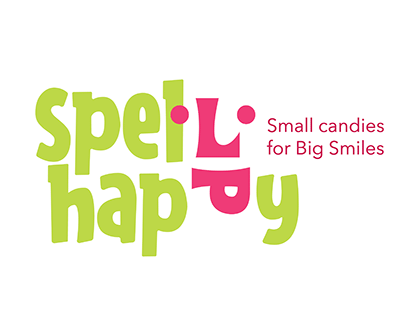 Spell Happy Branding for Candy Store