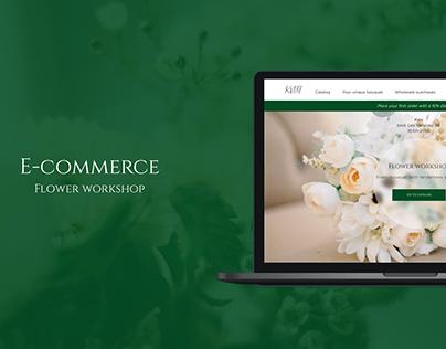 Flower Workshop/ E-commerce