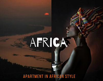 Apartment in African style