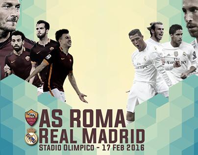 AS Roma vs. Real Madrid Wallpaper