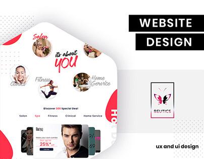 UI/UX design for Beutics by BrandzGarage