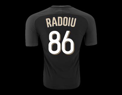 Atletico BK jersey font