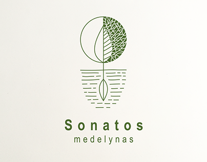 SONATOS MEDELYNAS visual identity