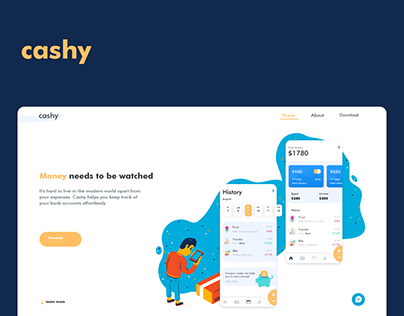 Cashy Landing Page