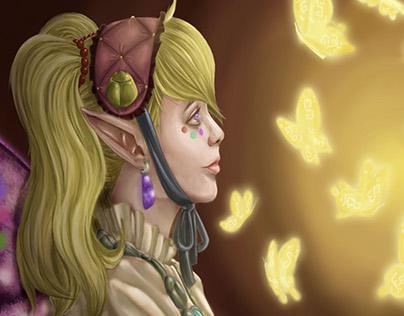 Agitha the Bug Princess