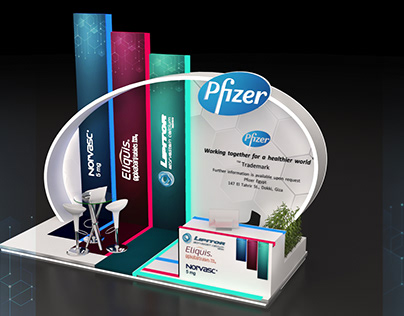 pfizer booth