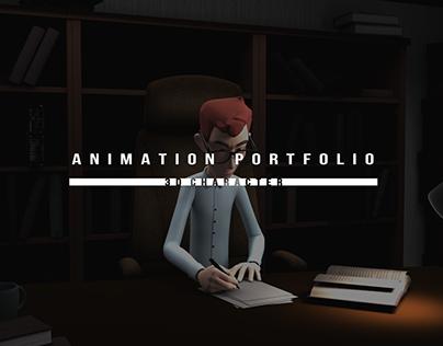 3D Character Animation Portfolio