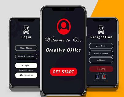 Mobile App Ux / Ui Design - Shaon Kumar Sarker
