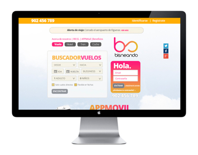 Bisneando (Travel web)