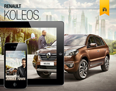 Renault Koleos & Tony Parker E-Mag