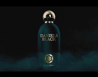 3D Bottle Perfum Daniels Black Dubai